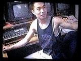 Director Paul Nguyen in the editing studio.